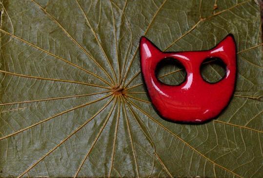 Broche cara de gato Narayani