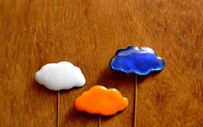 Alfiler de boda con forma de nube Tarlac