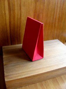 Caja para presentar los obsequios para invitados