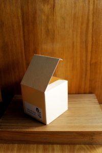 Caja para los obsequios para invitados