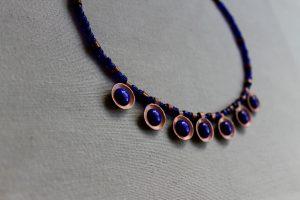 collar inspiración romana esmalte