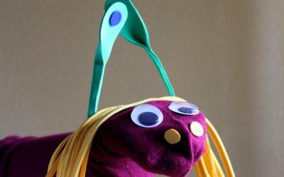 Marioneta de calcetín Otto