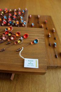 alfiler de novia artesanal y personalizable