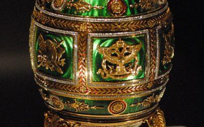 Fabergé y el esmalte al fuego