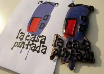 Broche de un logo