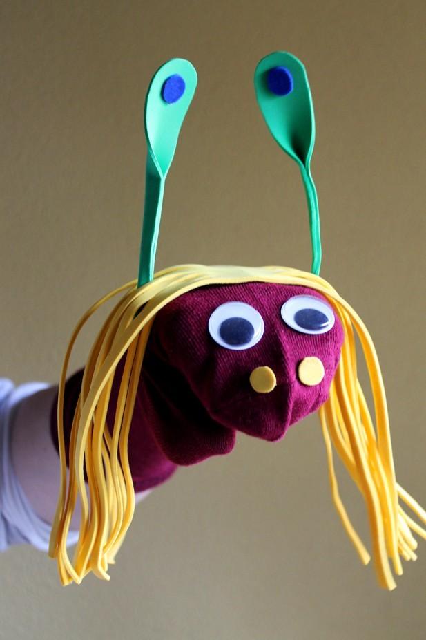 marioneta-calcetin-cumpleaños